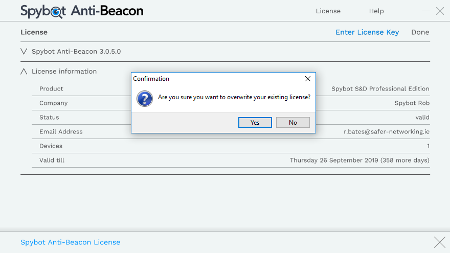 Spybot Anti-Beacon - Spybot Anti-Malware and Antivirus