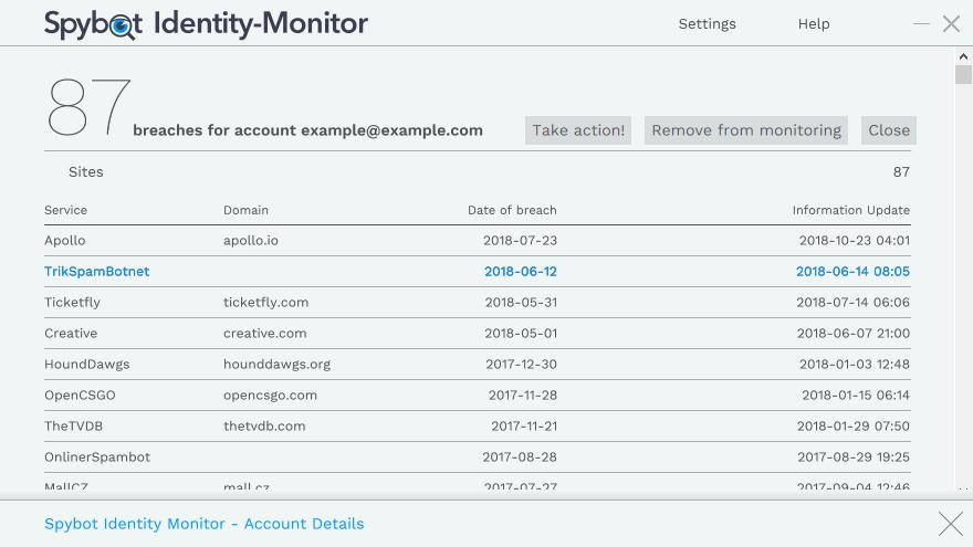 Spybot Identity Monitor - Spybot Anti-Malware and Antivirus : Spybot